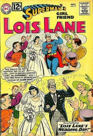 Cover for Superman's Girlfriend, Lois Lane #37