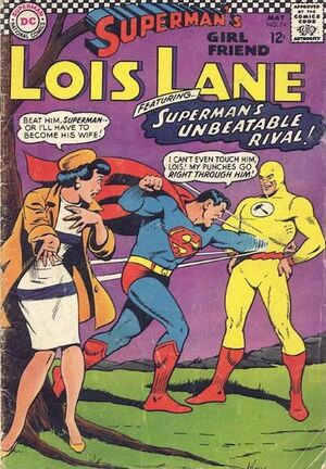 Cover for Superman's Girlfriend, Lois Lane #74