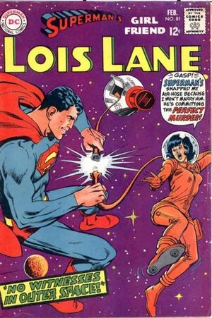 Cover for Superman's Girlfriend, Lois Lane #81