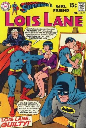 Cover for Superman's Girlfriend, Lois Lane #99