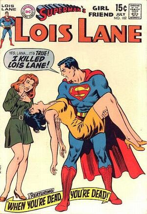 Cover for Superman's Girlfriend, Lois Lane #102