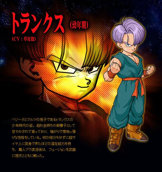 Trunks Dragon Ball Wiki. User:The Black Trunks