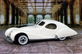 White Talbot Lago - B6460cf