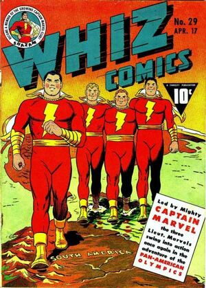 Cover for Whiz Comics #29