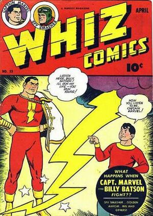 Cover for Whiz Comics #53