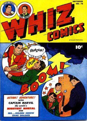 Cover for Whiz Comics #78
