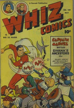 Cover for Whiz Comics #109