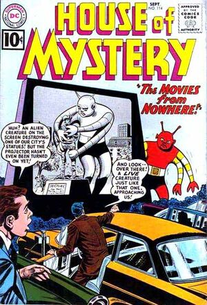 Cover for House of Mystery #114