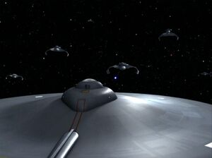 USS Enterprise-D7 face off