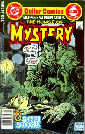 Cover for House of Mystery #258