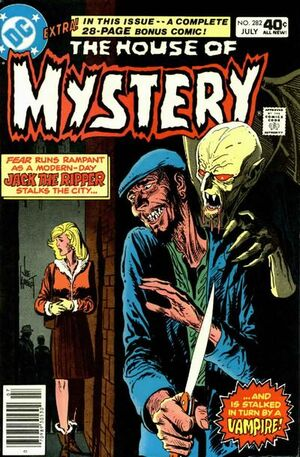 Cover for House of Mystery #282