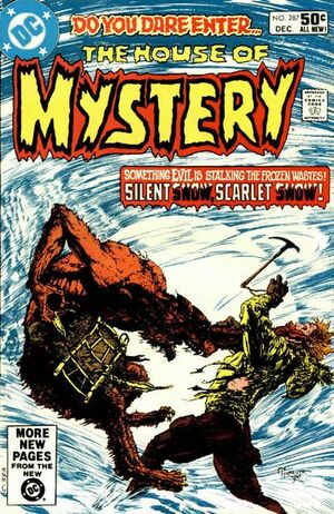 Cover for House of Mystery #287