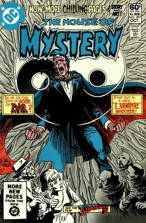 Cover for House of Mystery #297