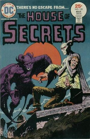 Cover for House of Secrets #129