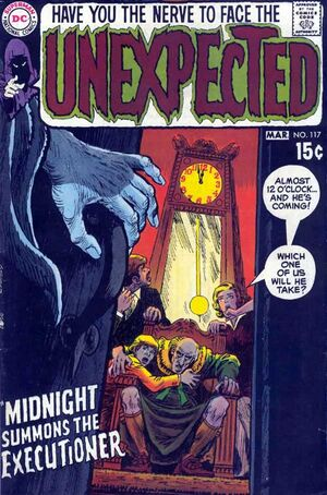 Cover for Unexpected #117