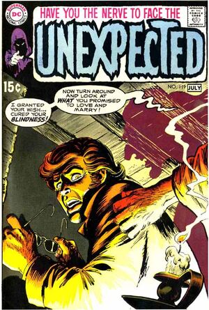 Cover for Unexpected #119