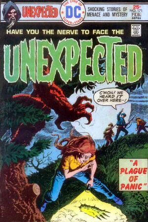 Cover for Unexpected #171