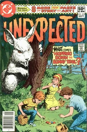 Cover for Unexpected #202