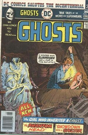 Cover for Ghosts #48