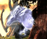 White dragon image