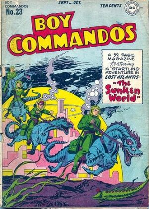 Cover for Boy Commandos #23