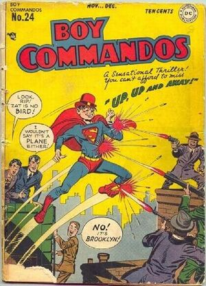 Cover for Boy Commandos #24