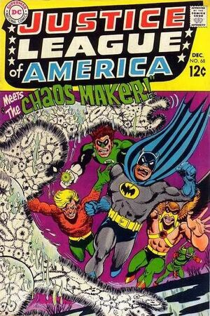 Cover for Justice League of America #68