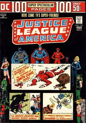 Cover for Justice League of America #110