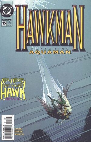 Cover for Hawkman #15