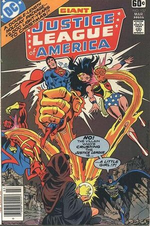 Cover for Justice League of America #152