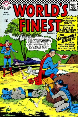 Cover for World's Finest #157