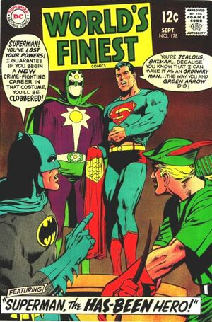 Cover for World's Finest #178