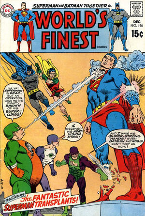 Cover for World's Finest #190