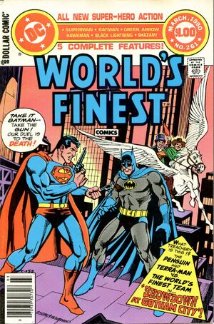 Cover for World's Finest #261