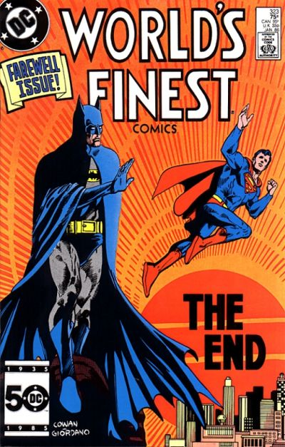 Worlds Finest Last Issue