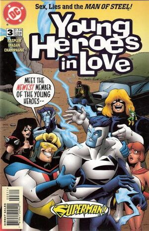 Cover for Young Heroes in Love #3