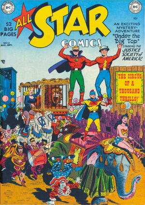 Cover for All-Star Comics #54