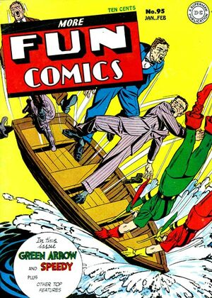 Cover for More Fun Comics #95