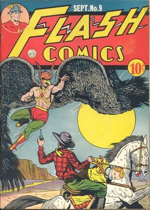 Cover for Flash Comics #9