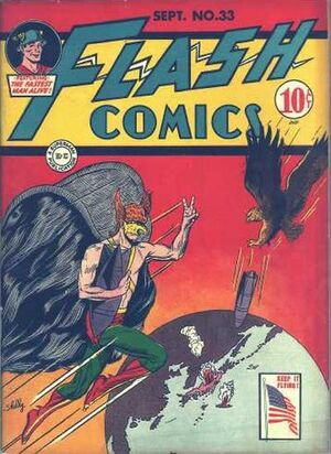 Cover for Flash Comics #33
