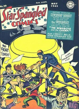Cover for Star-Spangled Comics #20