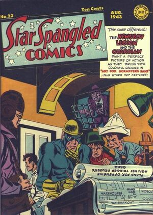 Cover for Star-Spangled Comics #23