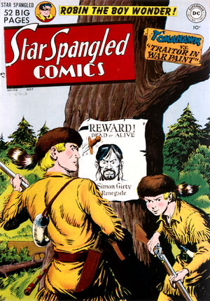Cover for Star-Spangled Comics #106
