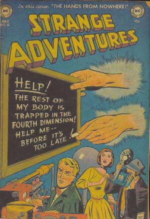 Cover for Strange Adventures #22