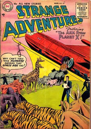 Cover for Strange Adventures #59