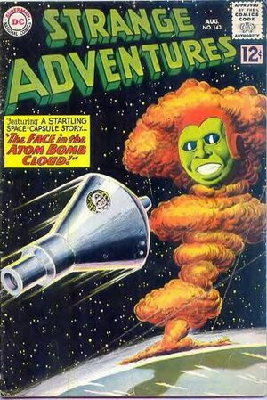 Cover for Strange Adventures #143