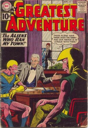 Cover for My Greatest Adventure #58