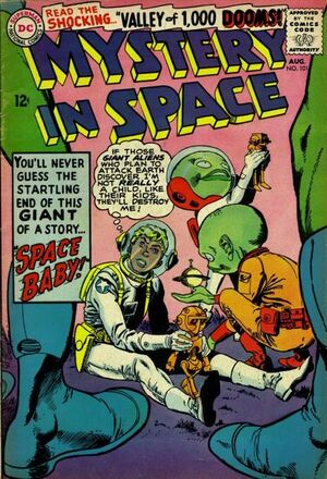 Cover for Mystery in Space #101