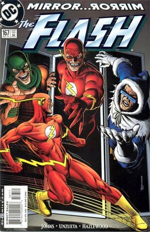 Cover for Flash #167