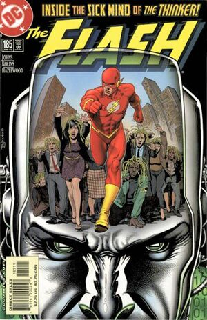 Cover for Flash #185
